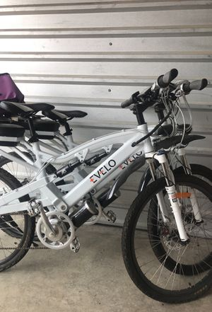2 -Evelo electo bikes for Sale in Dallas, TX