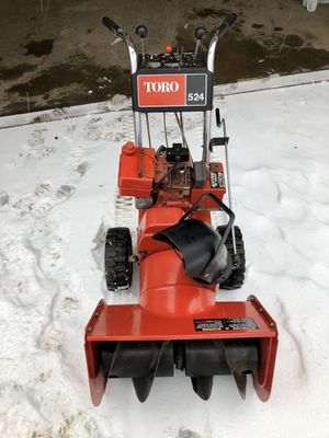 """Toro 524 24"""" 5hp reconditioned snowblower with electric start for Sale in Gobles, MI"""