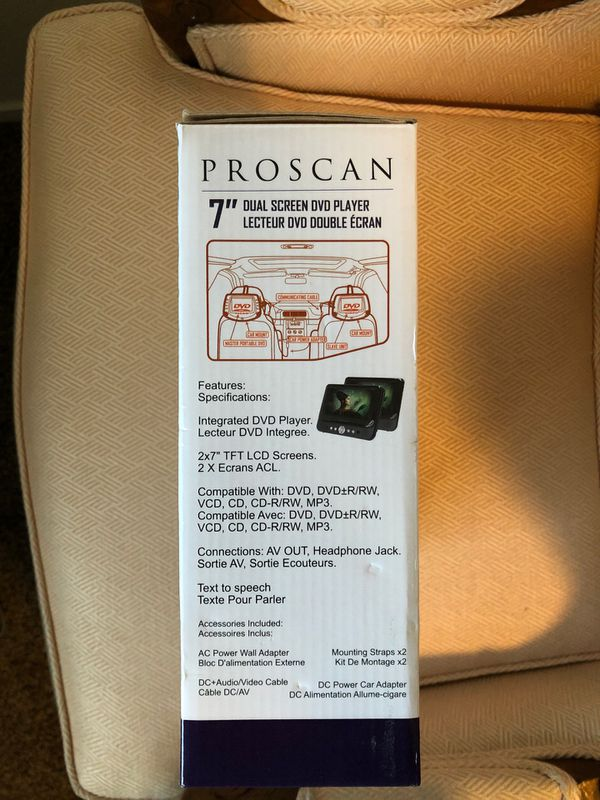 Proscan DVD PLAYER portable