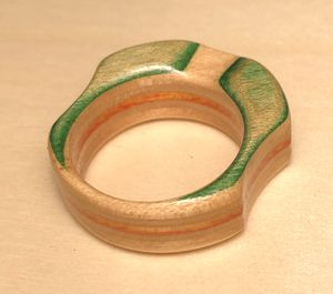 Recycled skateboard ring for Sale in Chula Vista, CA