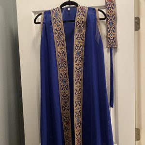 Traditional Royal Blue Strapless Cardigan for Sale in Columbus, OH