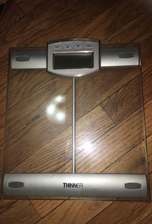 Conair® THINNER® Digital Precision Chrome and Glass Bathroom Scale for Sale in Queens, NY