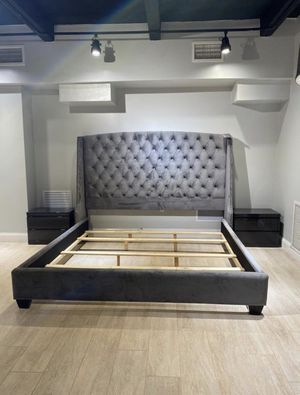 """New 63"""" Tall Bed Frame : Full / Queen / King / Cal King : Mattress Set Sold Separately : Box Spring Required : Bedroom Set Available for Sale in Oakland, CA"""