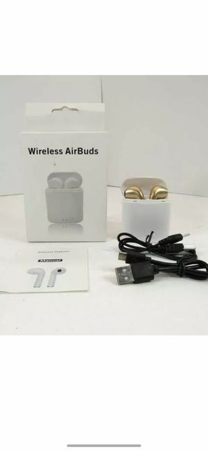 I7S Bluetooth Air Buds True Wireless Earbuds Stereo Earphone Headset Gold for Sale in Norwalk, CA