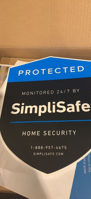 Simply Safe Home Security for Sale in Saint Marys, WV