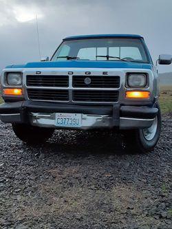 1992 Dodge D250 5.9 Cummins Diesel for Sale in Chehalis,  WA