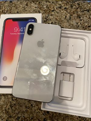 iPhone X for Sale in Spring Valley, CA