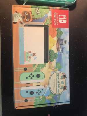Animal crossing limited edition switch for Sale in Colton, CA