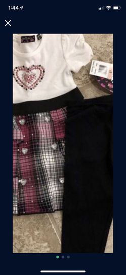 Girl Size 2T New With Tags Smoke And Pet Free for Sale in Taunton, MA