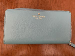 Kate Spade Light Blue Wallet for Sale in Alexandria, VA