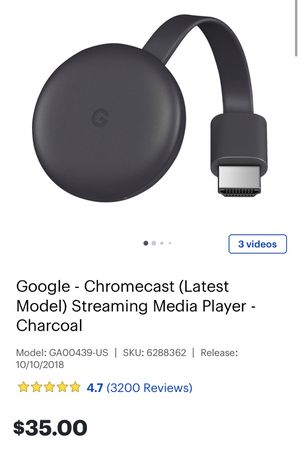 Google Chromecast for Sale in Wake Forest, NC