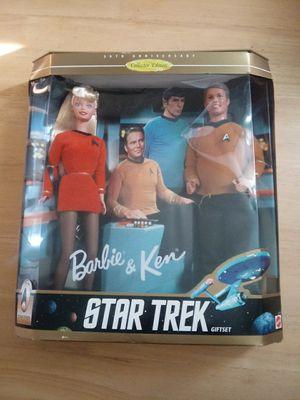 Star trek Barbie and Ken gift set for Sale in Phoenix, AZ