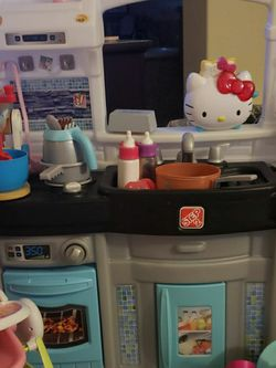Play Kitchen PLUS Girl Toys (Over$200 Value) for Sale in Discovery Bay,  CA