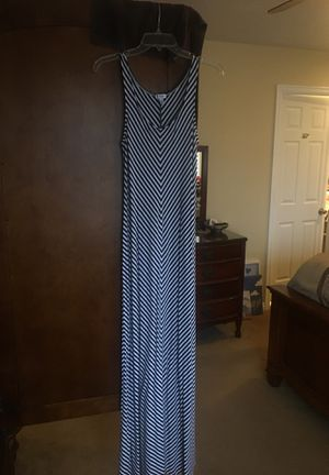 Navy blue and white striped dress for Sale in Sandy, UT