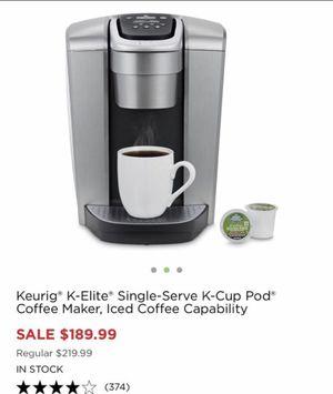 Keurig k elite for Sale for sale  Secaucus, NJ
