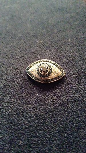 All-Seeing Evil Eye Silver Necklace Pendant for Sale in Atlanta, GA