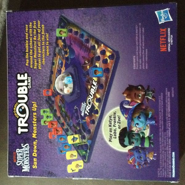 SUPER MONSTERS POP O MATIC TROUBLE GAME