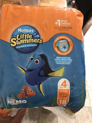 Huggies size 4 little swimmers for Sale in Colorado Springs, CO