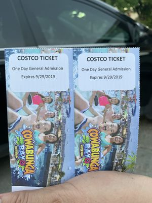 Cowbunga bay tickets for Sale in Henderson, NV