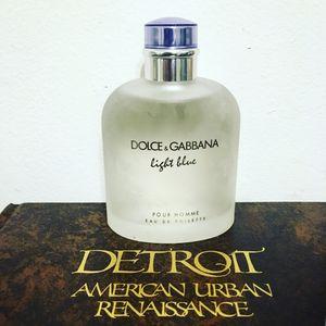 Dolce & Gabbana light blue for men for Sale in Grosse Pointe Park, MI