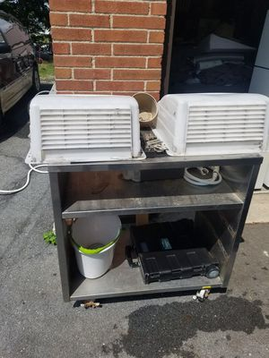 2 Max air rooftop vent covers for Sale in PA, US