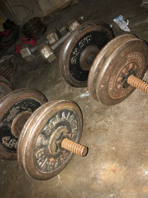 Free hand dumbbells for Sale in Anaheim, CA