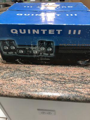 Klipsch Quintet III Speaker System for Sale in Corpus Christi, TX