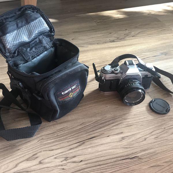 35mm Canon Camera + Accessories