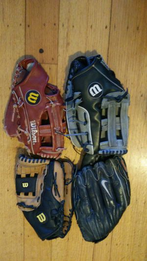 $20 each softball glove Slowpitch for Sale in San Leandro, CA