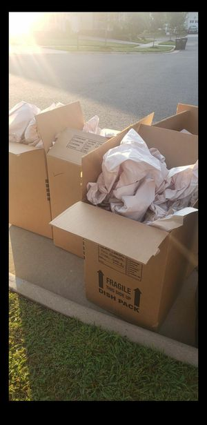 Free moving boxes for Sale in Dumfries, VA