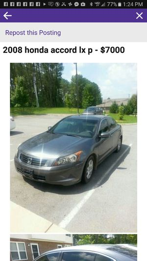 2008 Honda Accord lx p for Sale in Morristown, TN
