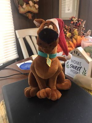 Scooby doobie doo stuffed animal, like new for Sale in Garner, NC