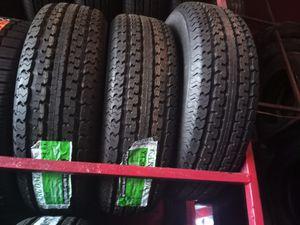 4 New Cargomax Trailer Tires 225/75/15 for Sale in Phoenix, AZ