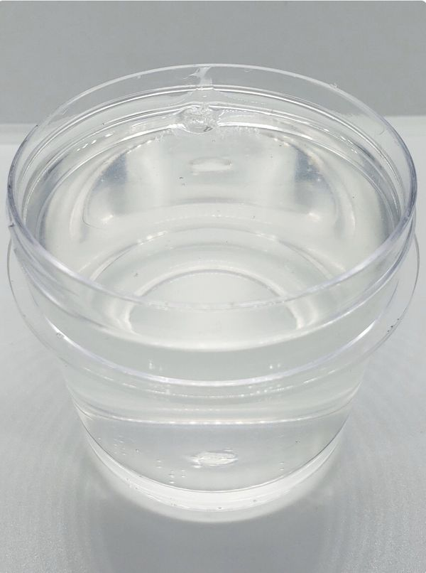 Crystal clear slime not scented