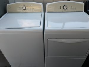 """""""KENMORE"""" MATCHING SET WASHER & ELECTRIC DRYER KING SIZE CAPACITY for Sale in Phoenix, AZ"""