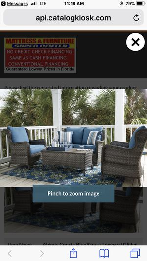 Beautiful Ashley Patio Conversation Set for Sale in Tampa, FL