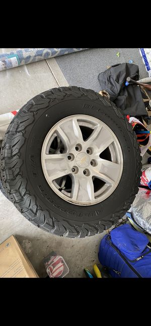 BF Goodrich KO2 All-Terrain tires for Sale in Chesapeake, VA