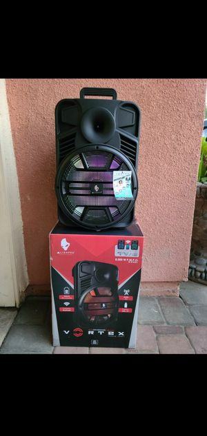"""New 12"""" subwoofer rechargeable, Bluetooth, usb, sd, tf, fm, microphone, remote control for Sale in Riverside, CA"""