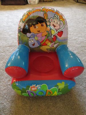Dora The Explorer Inflatable Chair for Sale in Aberdeen, MD