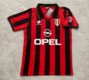 Roberto Baggio AC Milan Soccer Team New Men's Home Retro Vintage Soccer Jersey - Size M and L for Sale in Chicago, IL