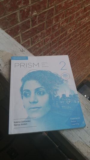 Cambridge prism listening and speaking intermediate level (2) for Sale in Bedford, TX