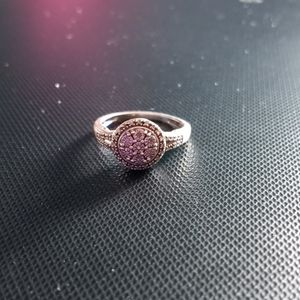 Sterling Sterling Diamond Ring Size 7 for Sale in Westerly, RI