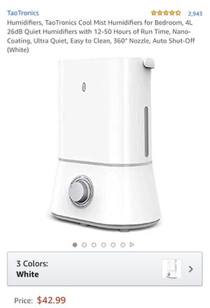New cool mist humidifier for Sale in Norwalk, CA