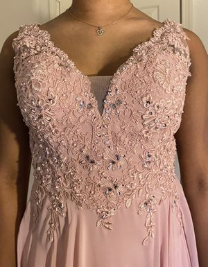 Blush Long Evening Dress (Prom,Dinner,Wedding etc) for Sale in Silver Spring, MD