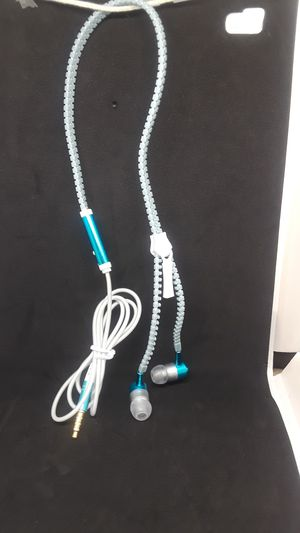 Luminous zipper stereo hands-free headphone for Sale in Pittsburgh, PA