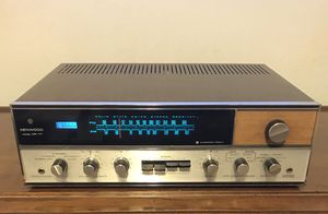Vintage Kenwood Stereo Receiver for Sale in Fresno, CA