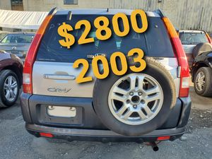 2003 Honda crv awd for Sale in Salem, MA