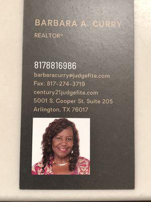 Barbara Curry/Realtor for Sale in Arlington, TX