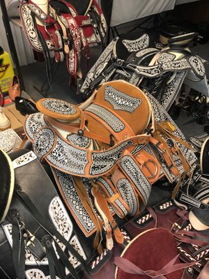Mexican Horse Saddles 🐎 Silla De Montar Charro for Sale in Carson, CA