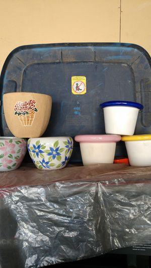Flower pots for Sale in San Bernardino, CA